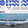 Декаль на Boeing 747-100 Pan Am  1/144