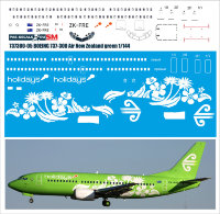 Лазерная декаль на BOEING 737-300 Air New Zealand green 1/144