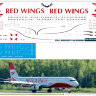 Декаль на Airbus A 321 Red Wings 1/144